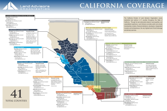 California Coverage Map