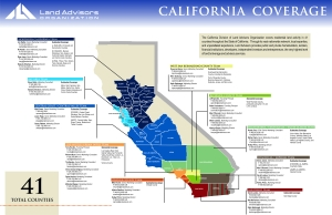 California Map 2013